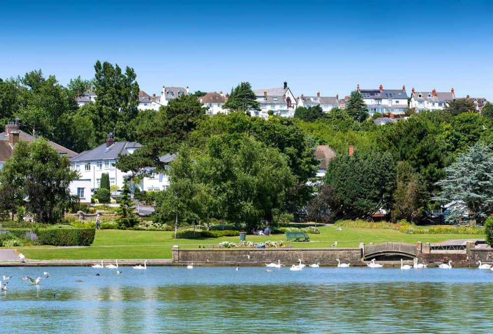 Knap Lake and Garden
