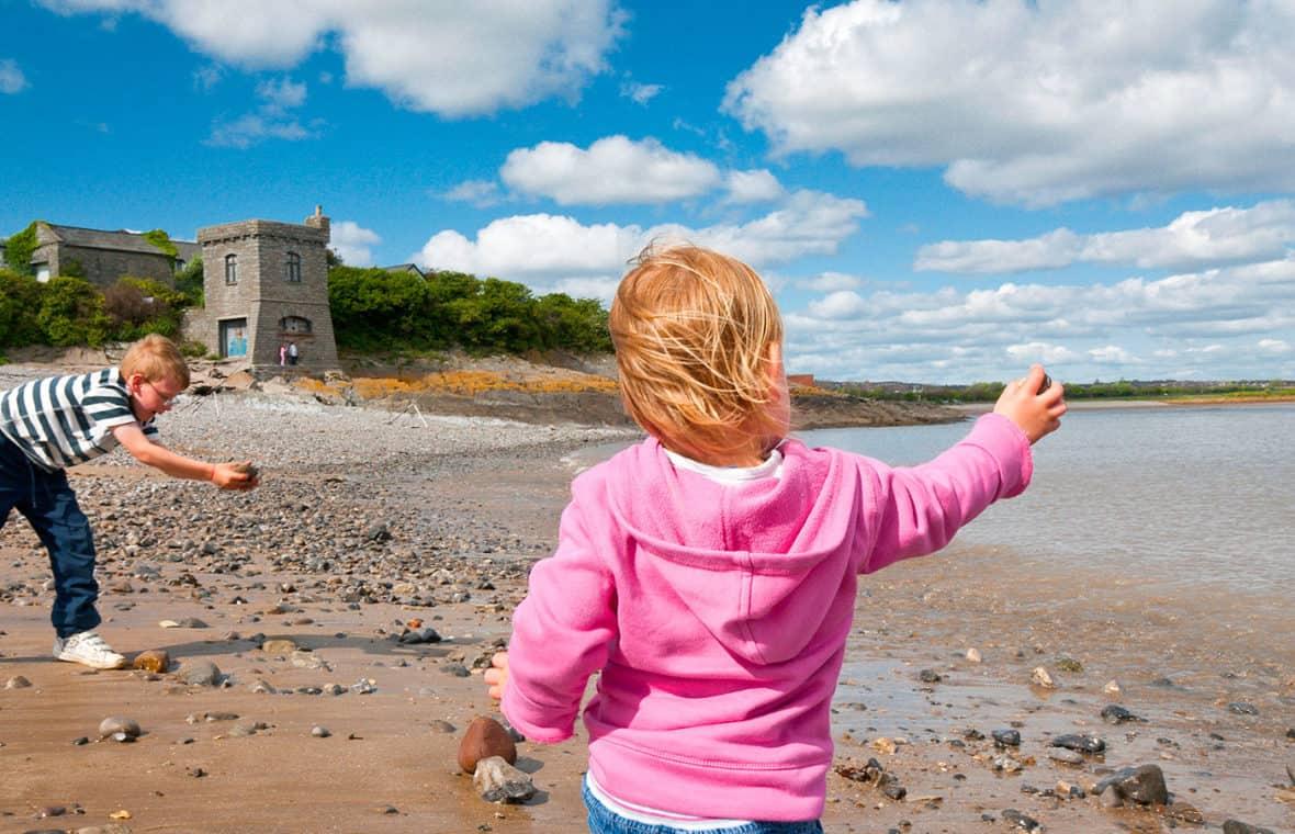 Watchtower Bay beach