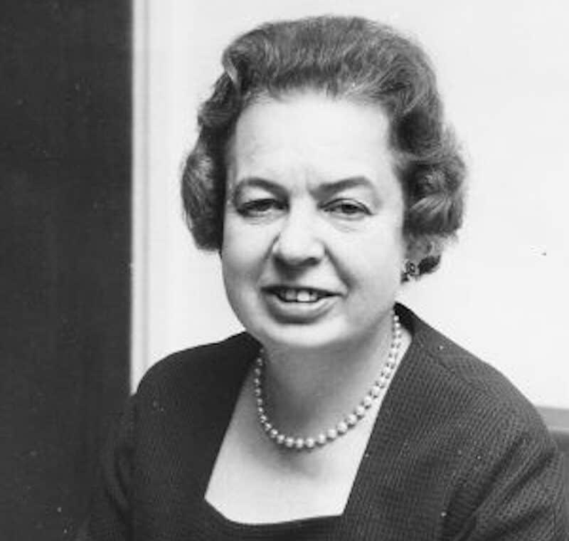 Eirene Lloyd White, Baroness White - Great Barrian